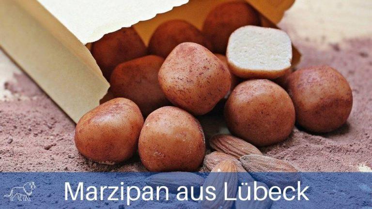 Das Bild zeigt Marzipan aus Lübeck