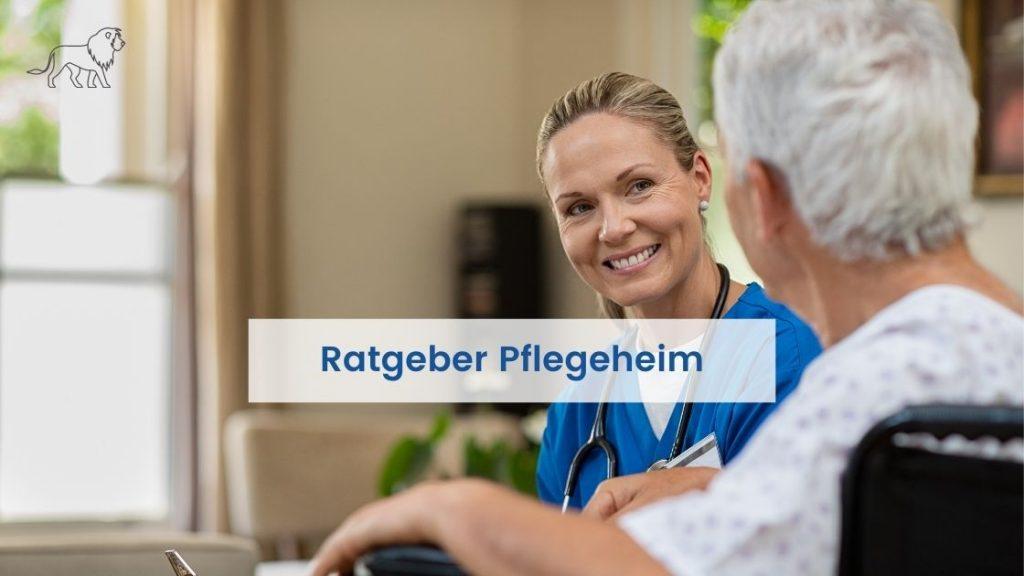 Pflegeheim Ratgeber im Gespräch mit einer Seniorin