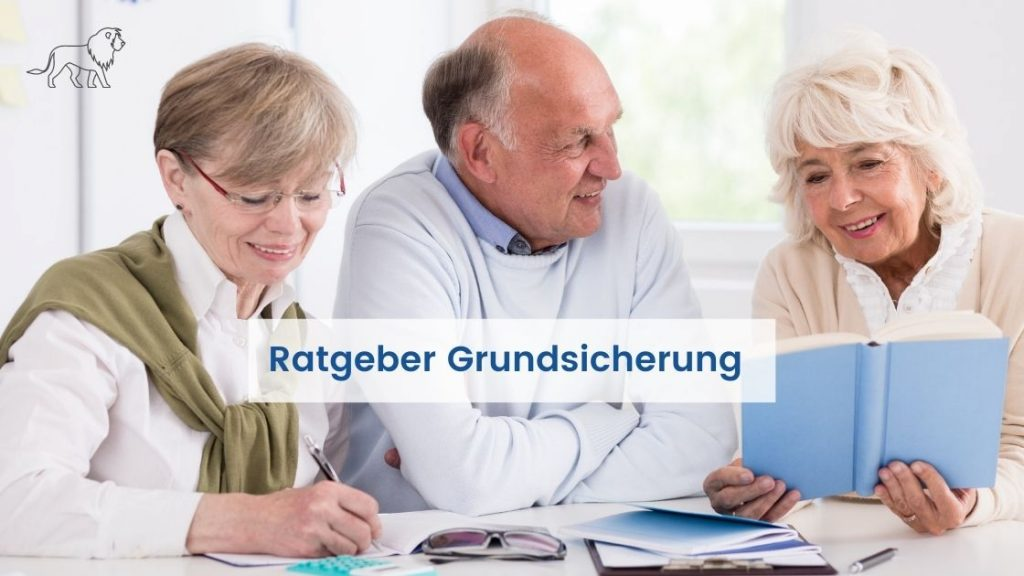Das Bild zeigt Senioren bei der Beratung zum Thema Grundsicherung im Alter