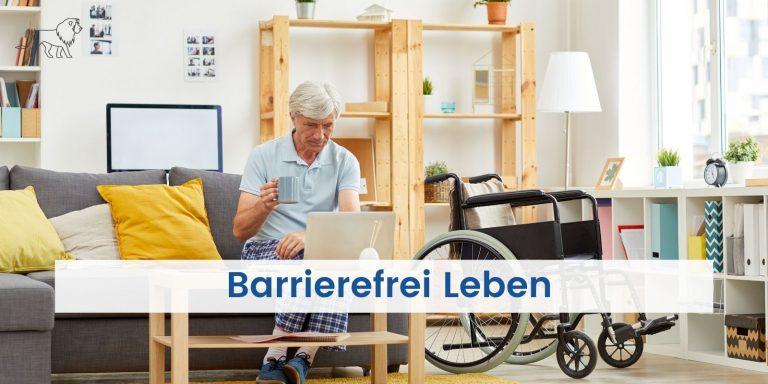 Barrierefrei Leben mit Rollstuhl in der eigenen Wohnung