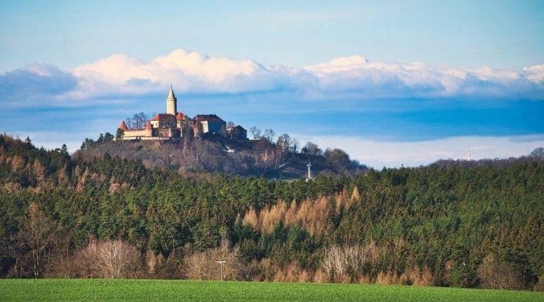 Die Leuchtenburg in Thüringen