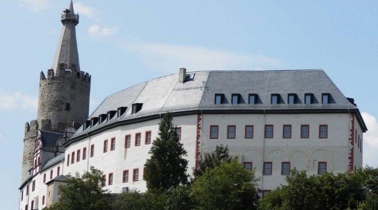 Die Osterburg zu Weida mit dem bekannten Turm