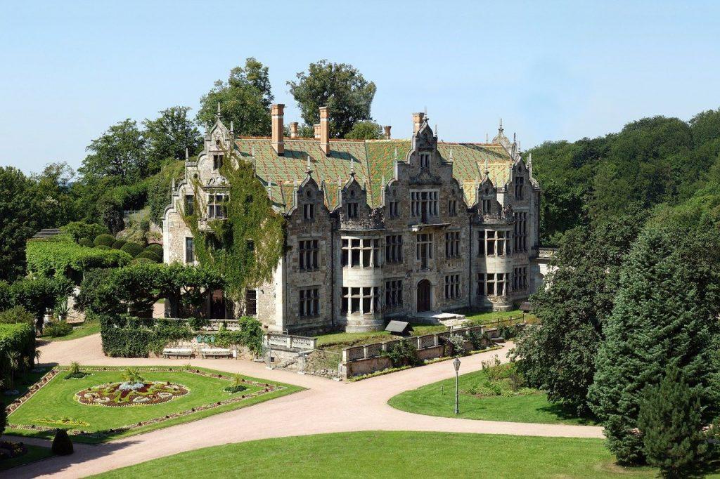 Schloss Altenstein ist eines schönsten Schlösser in Thüringen