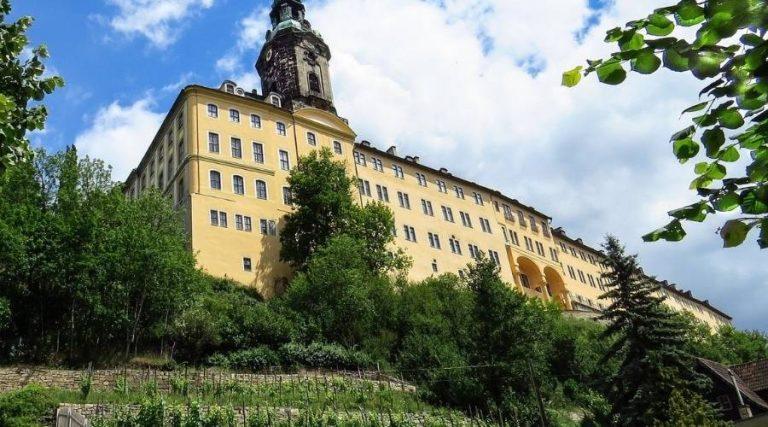 Schloss Heidecksburg ist mit ihrer Lage eine der imposanten Burgen und Schlösser in Thüringen