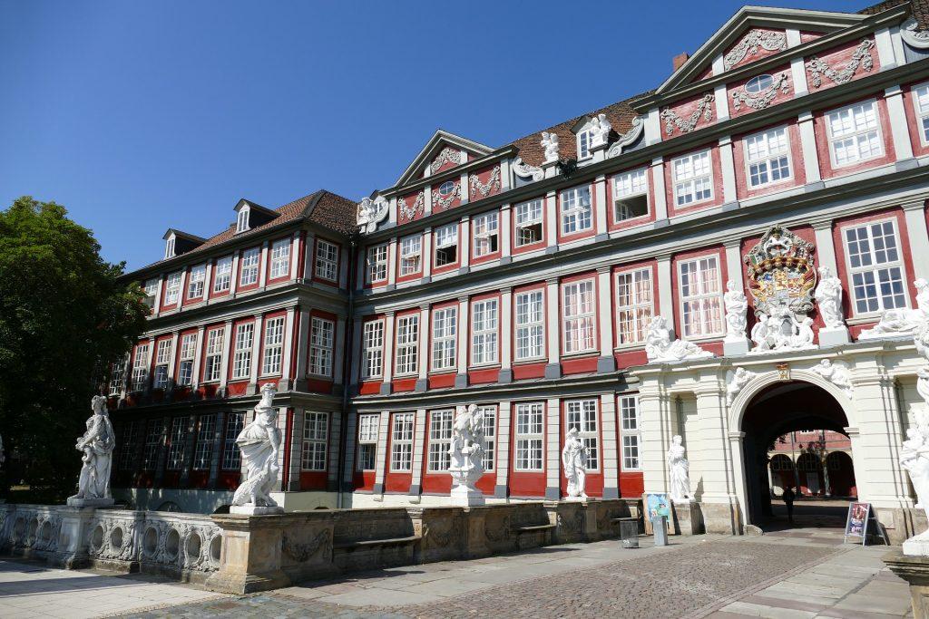 Das Bild zeigt das Schloss Wolfenbüttel