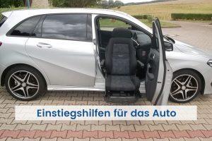 Einstiegshilfe Auto mit Schwenksitz