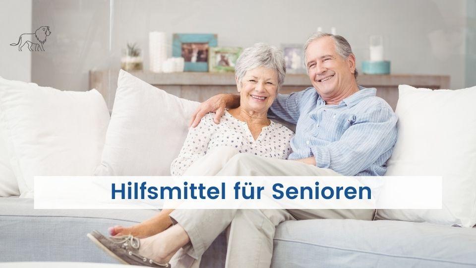 Das Bild zeigt Senioren in ihrer barrierefreien Wohnung