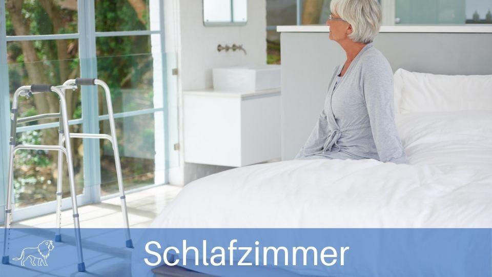 seniorengerecht und barrierefrei wohnen im Schlafzimmer