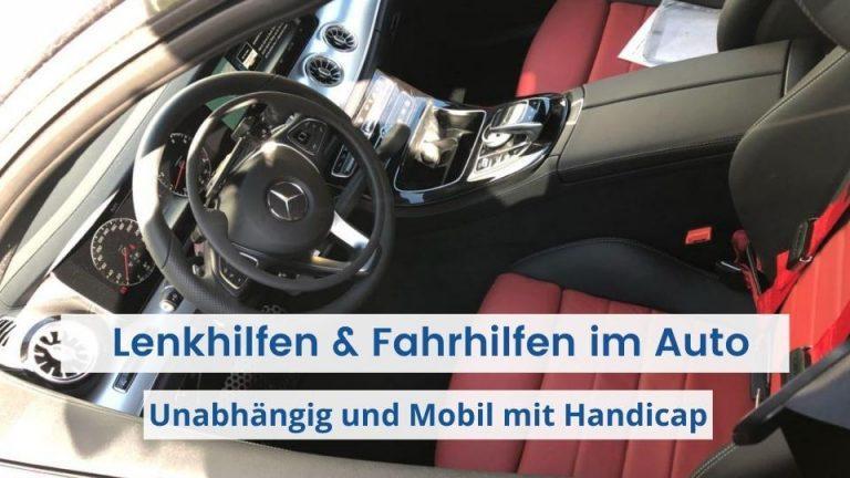 Das Bild zeigt ein Auto mit Lenkhilfe und Fahrhilfe